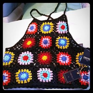 NWT F21. Very Cool Halter top
